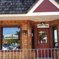Sports Page Sandwich Shoppe