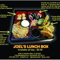 Joel's Asian Grill & Sushi