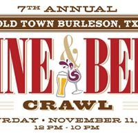 Burleson Wine and Beer Crawl