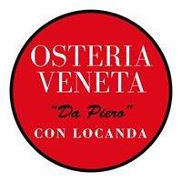 """OSTERIA VENETA """"da Piero"""""""