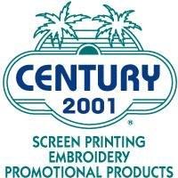 Century 2001 Promotional Products ,Embroidery & Screen Printing