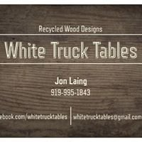 White Truck Tables