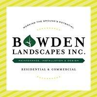 Bowden Landscapes, Inc.