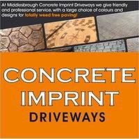 Concrete Imprint Driveways