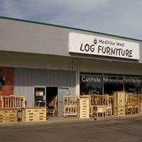 Medicine Wolf Log Furniture