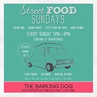 Street Food Sunday's at The Barking Dog