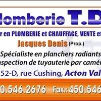 Plomberie T.D. Inc.