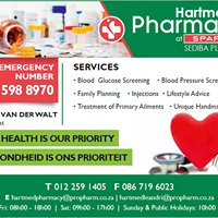 Hartmed Pharmacy at Spar