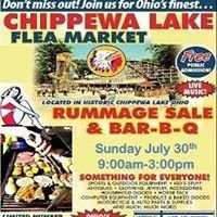 Chippewa lake Flea Market