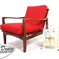 Retro Desire mid-century furniture and decoration.