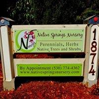 Nancy's Native Springs Nursery