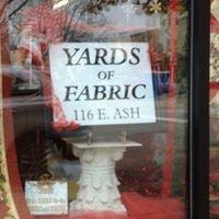 Yards of Fabric