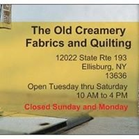 The Old Creamery Fabrics & Quilting