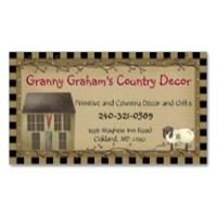 Granny Graham's Country Decor