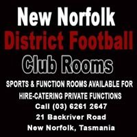 New Norfolk District Football Club Rooms