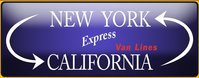 CA - NY Express cross country movers