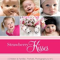 Strawberry Kisses, South Florida Children & Baby Photography Portraits