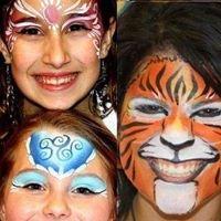 Mardi Gras Face Art of Winnipeg