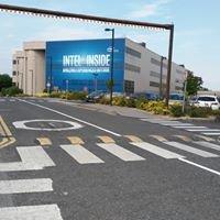 Intel processor manufacturing facility Leixlip Ireland