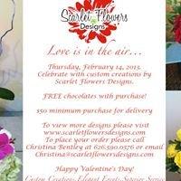 Scarlet Flowers Designs