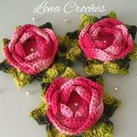 Lena crochês