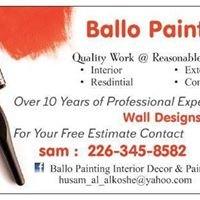 Ballo Painting interior decor and paint