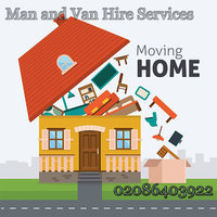 Man and Van Hire Services for Farnham 02086403922