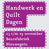 Handwerk en Quiltdagen