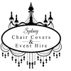 Sydney and Hervey bay chair covers and event hire