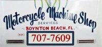 Motorcycle Machine Shop Services