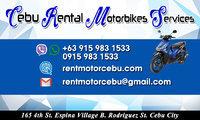 Cebu Rental Motorbikes Services