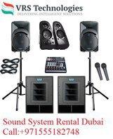Sound System Rental Dubai - Rent Speakers in Dubai