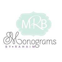 Monograms by Rahaim