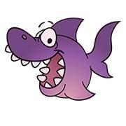 Purple Shark Crafts