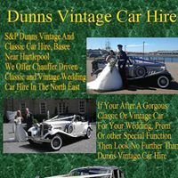 Dunns Vintage Wedding CARS Contact Kevin