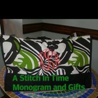 A Stitch In Time Monogram Shoppe