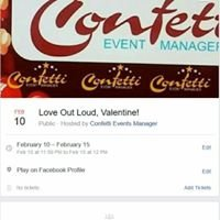 Confetti Events Manager