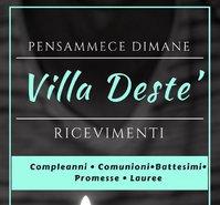 Villa Deste' ricevimenti