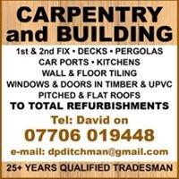 D.P.Ditchman Carpentry and Building