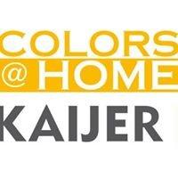 Kaijer Colors at Home