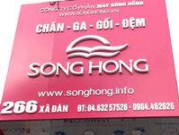 chan ga gối đệm Sông Hồng tại Hà Nội