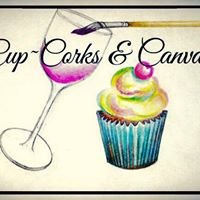 Cup-Corks and Canvas by Heather Myer