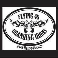 Flying 45 Freeze Branding Irons