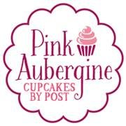 Pink Aubergine Cupcakes by Post