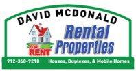 David McDonald Rentals
