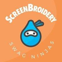 ScreenBroidery - Swag Ninjas