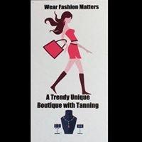 Wear Fashion Matters