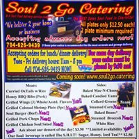 Soul 2 Go Catering