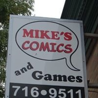 Mike's Comics and Games