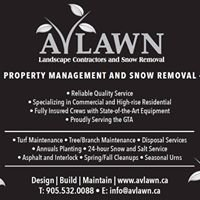Avlawn Landscaping & Snow Removal Ltd.